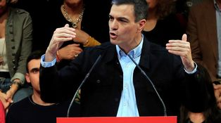 Grito de Sánchez al independentismo: ¡No pasarán!