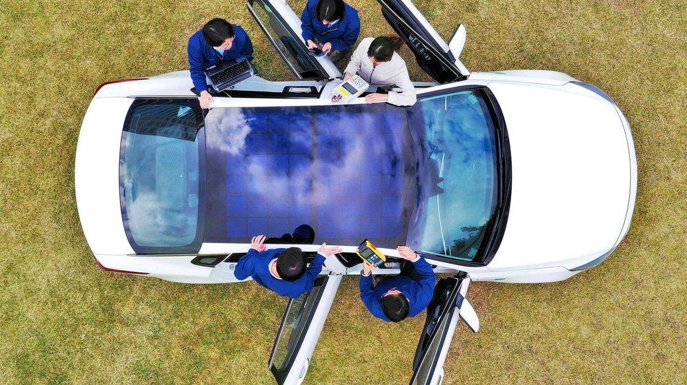 Foto: Ya hay prototipos del grupo coreano con techo solar en fase de pruebas.