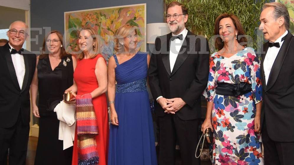 Foto: Mariano Rajoy y Ana Pastor acudieron a la gala. (Foto: Cristina Sáiz/ PontevedraViva)