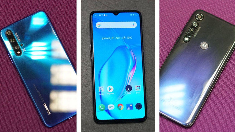 Huawei, realme, Honor y Motorola: cuatro 'smartphones' para hacer sombra a Xiaomi