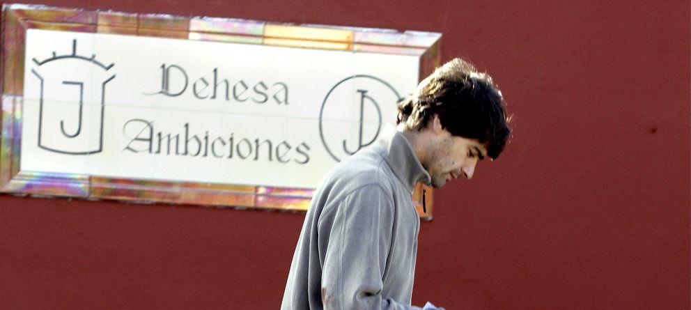Foto: Jesús Janeiro en la finca de Ambiciones, en una imagen de archivo (I.C.)