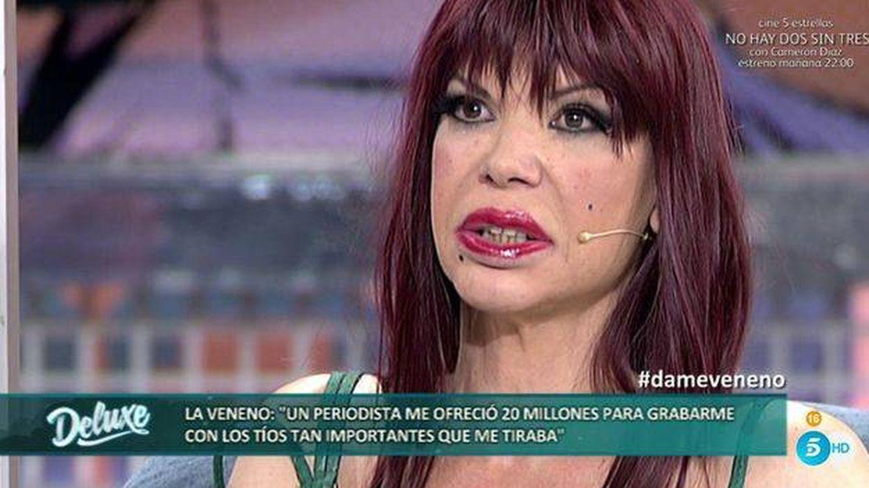 Foto: La Veneno en una de sus últimas apariciones públicas
