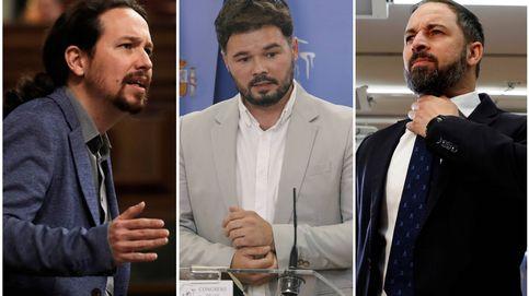 Pablo Iglesias, Abascal, Rufián...  ¿Cuáles son los turnos del debate de investidura?