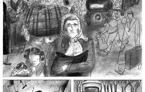Winnipeg, el cómic del barco olvidado del exilio español