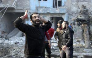 Los bombardeos del régimen sirio matan a 300 personas en Alepo