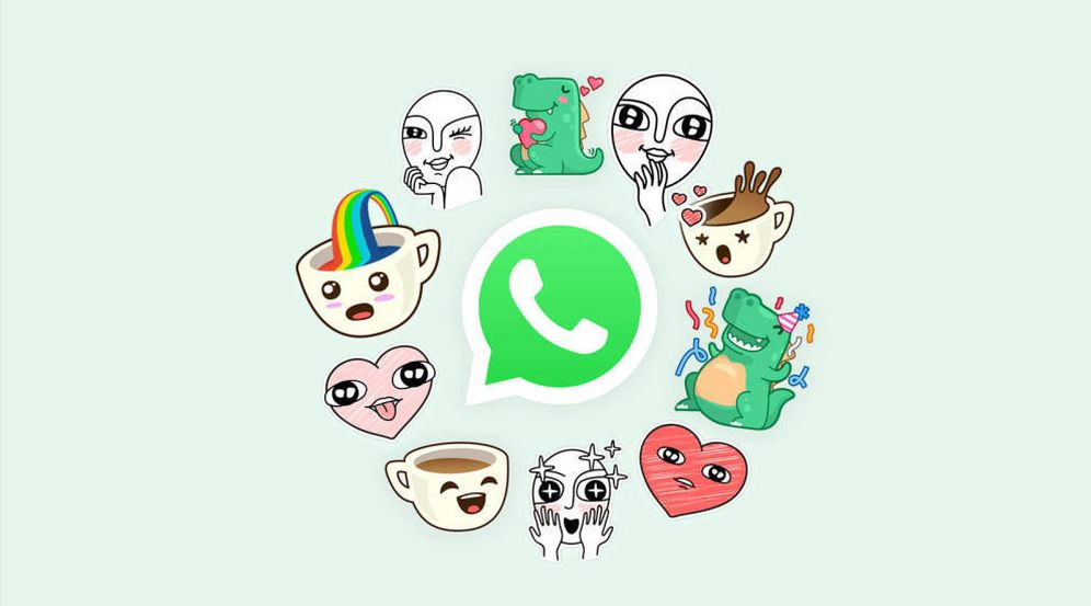 Foto: La revolución de los 'stickers' ha llegado a WhatsApp (Imagen: WhatsApp)