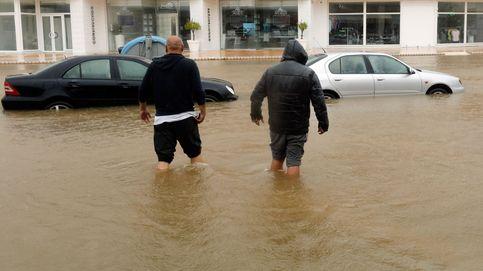El temporal ahoga la Marina Alta