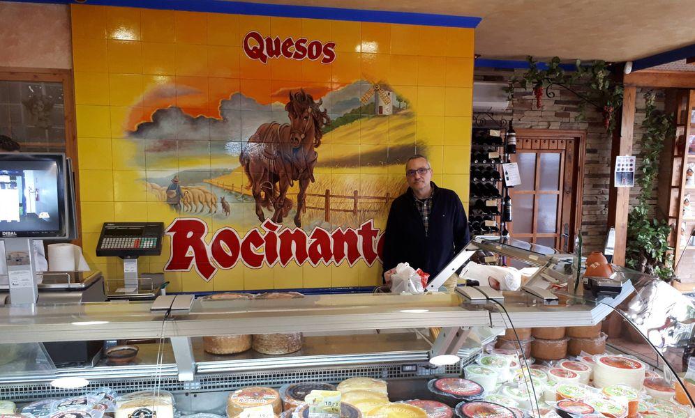Foto: José Antonio Ruiz-Valdepeñas Molino, gerente de la quesería Cuquerella , en Malagón (Ciudad Real). (R. M.)