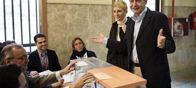 Foto: Jose Luis Rodriguez Zapatero y su mujer Sonsoles, en noviembre de 2011. (I.C.)