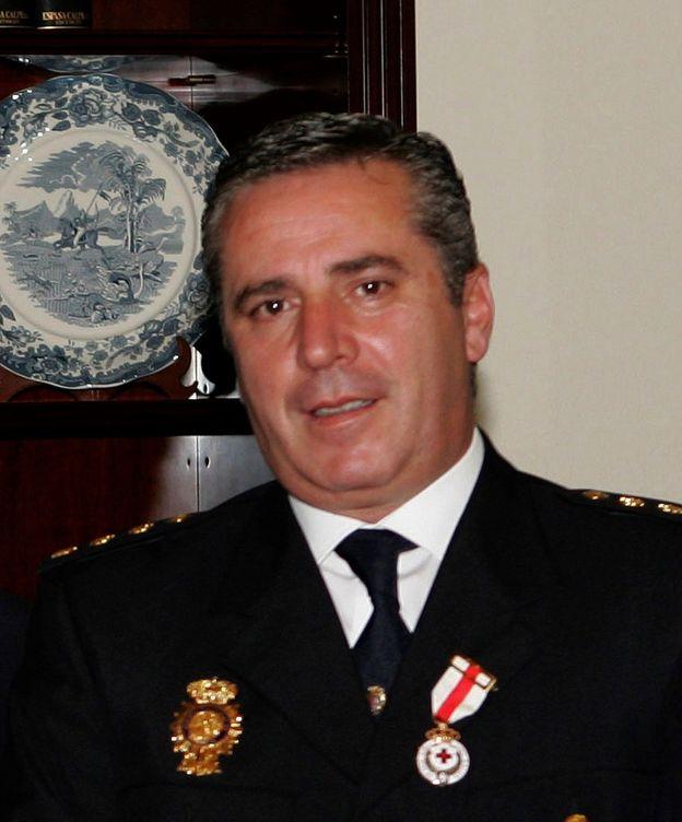 Foto: Comisario Carlos Salamanca. (EFE)