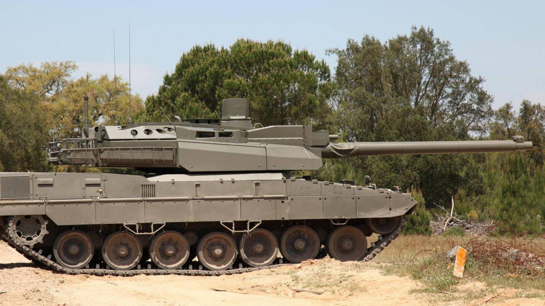El MGCS en una primera aproximación, con el casco de un Leopard y la torre de un Leclerc (KNDS)
