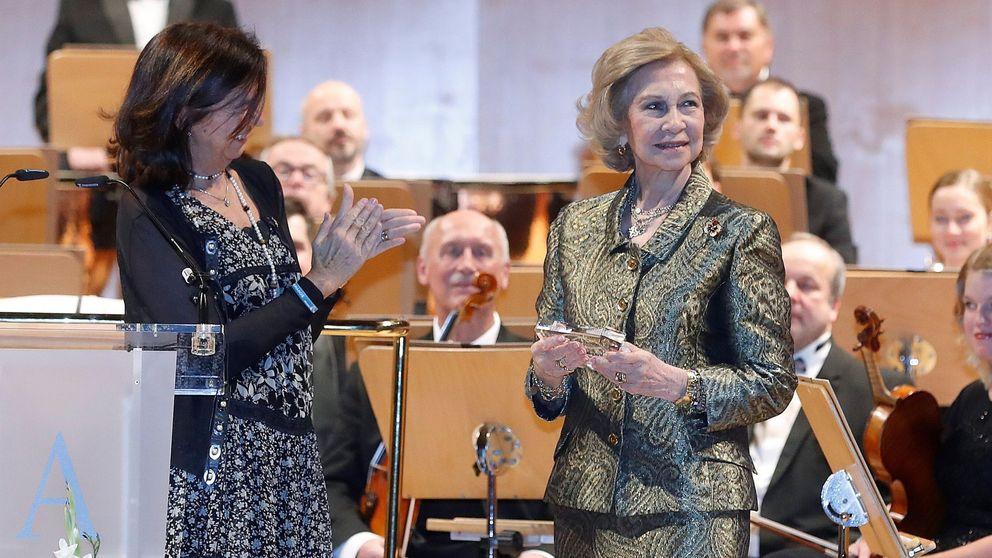 La agenda 'non stop' de la reina Sofía: siete días, cinco citas, tres ciudades