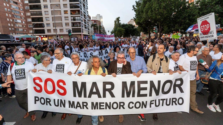Manifestación popular 'Por un Mar Menor con futuro' (EFE)