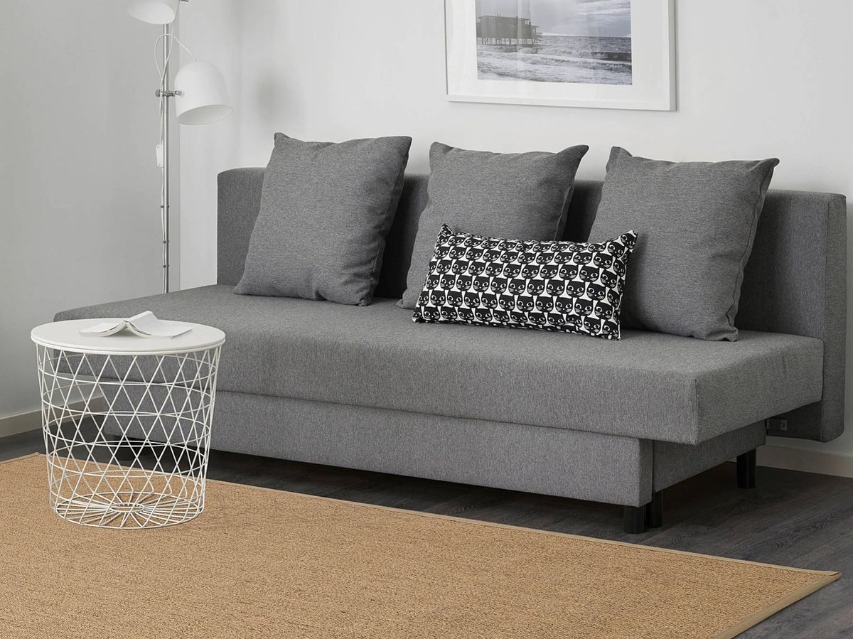 Foto: Sofá para salones pequeños de Ikea. (Cortesía)