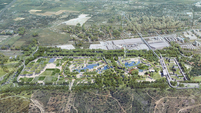 Intu Properties defiende que ha ampliado las zonas verdes y ha mejorado los accesos.