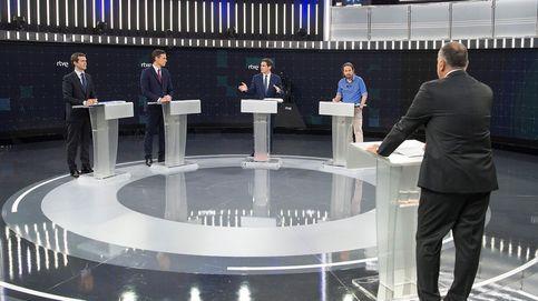 Debate en TVE, directo | Casado y Rivera consolidan su bloque contra Sánchez