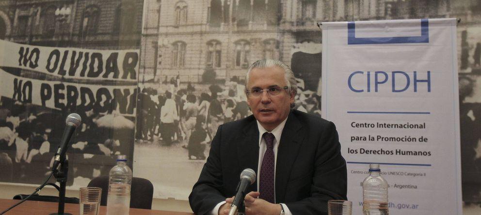 Foto: Baltasar Garzón, en Buenos Aires, en 2013. (Efe)