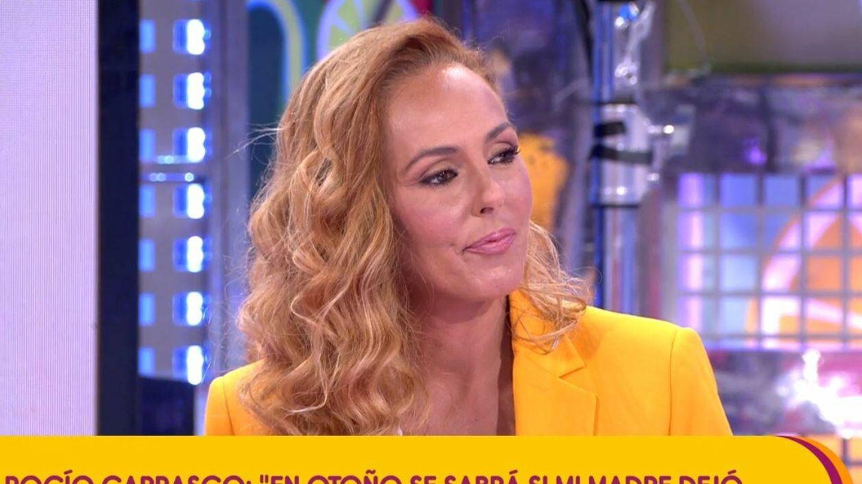 Rocío Carrasco en 'Sálvame'. (Mediaset España)