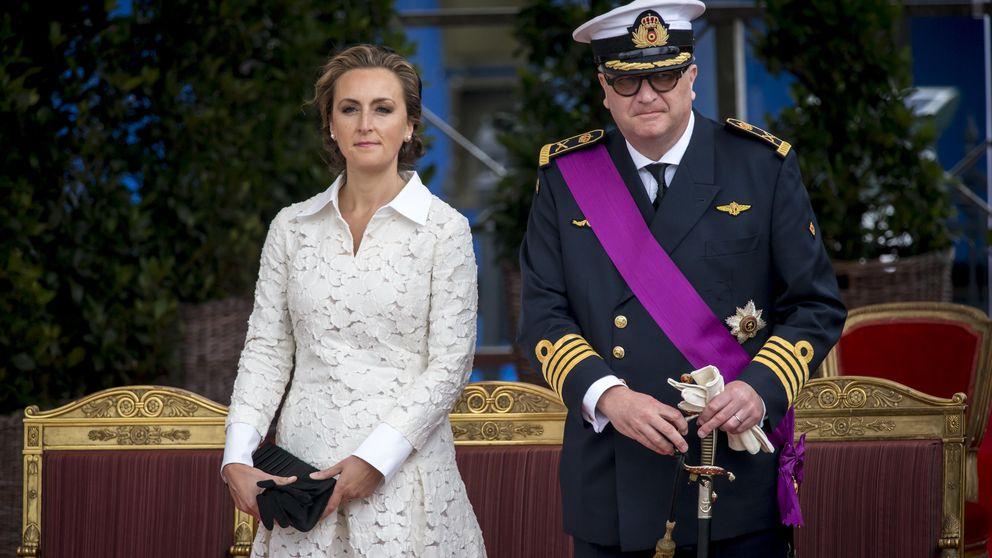 El príncipe Laurent quiere que los belgas paguen hasta su papel higiénico