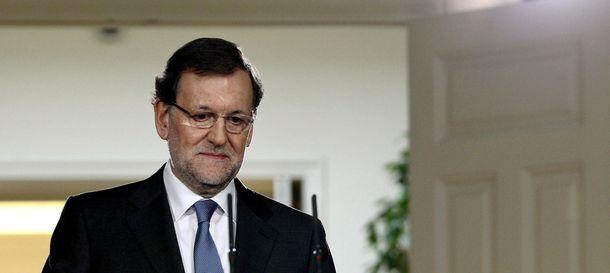 Foto: Rajoy y el vivo retrato del desdén