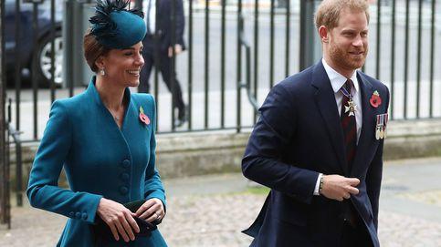 Kate Middleton y Harry se ven las caras en solitario en plena guerra de cuñados