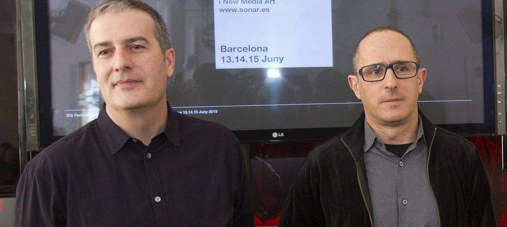 Foto: Los codirectores del festival Sónar, Ricard Robles (i) y Enric Palau.