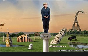 La 'peineta' que puede dar el triunfo definitivo a Merkel