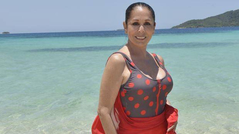 Isabel Pantoja, en 'Supervivientes'. (Mediaset)