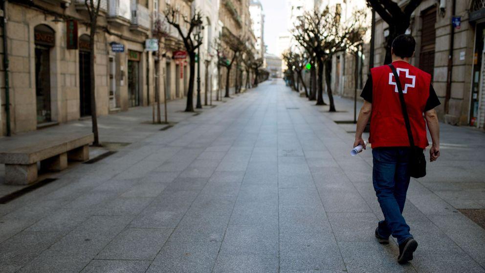 Un modelo matemático prevé que el pico de coronavirus en España llegue en abril