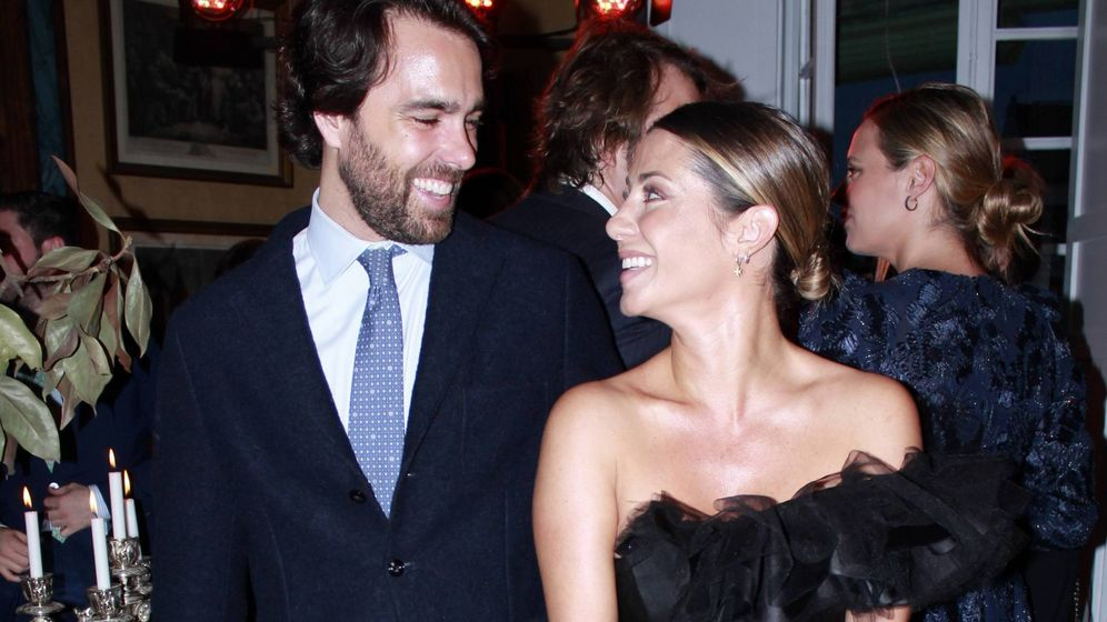 Foto: Javier y Elena, felices. (Cordon Press)