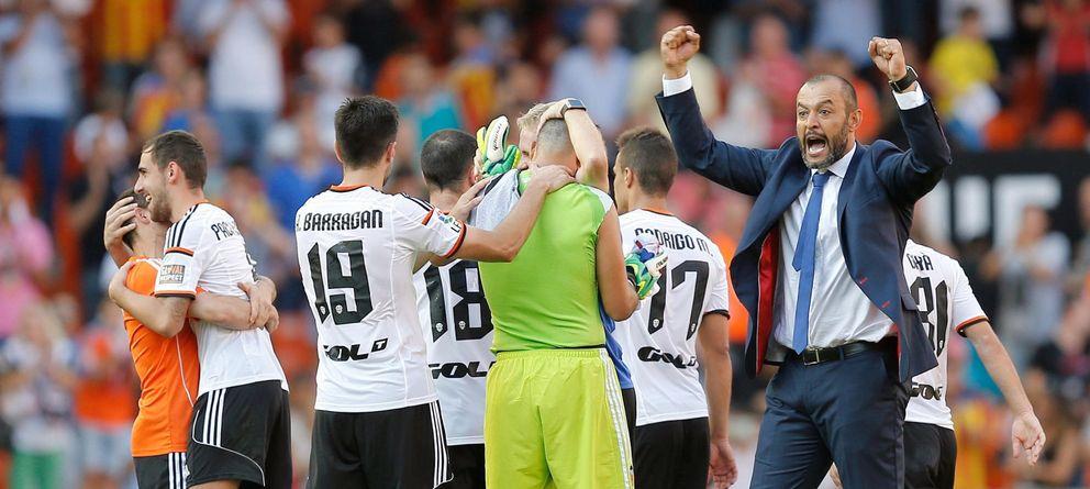 Nuno Espírito Santo diseña un vigoroso Valencia que vuelve a soñar con la gloria