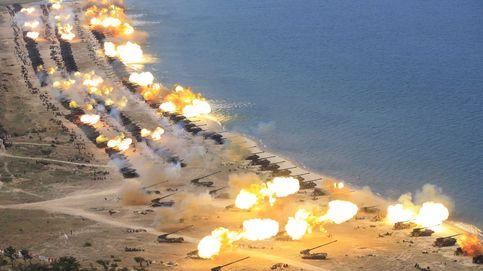 Demostración militar de Corea del Norte