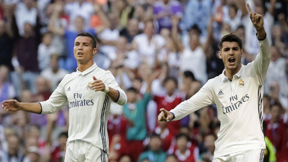 Foto: Álvaro Morata no está teniendo el protagonismo que esperaba cuando decidió regresar al Real Madrid. (EFE)