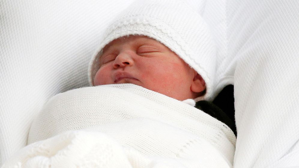Foto: El príncipe Louis Arthur Charles. (Reuters)