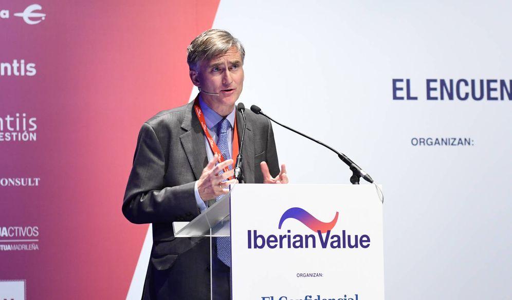Foto: Francisco García Paramés, Cobas AM, durante su intervención en el foro.