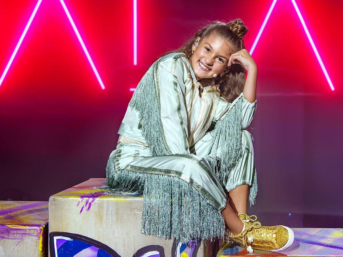 Foto: Soleá, representante española en Eurovisión Junior 2020. (Raúl Tejedor/TVE)