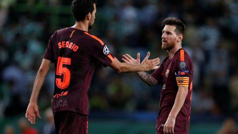 Messi y Busquets comen aparte en el Barcelona