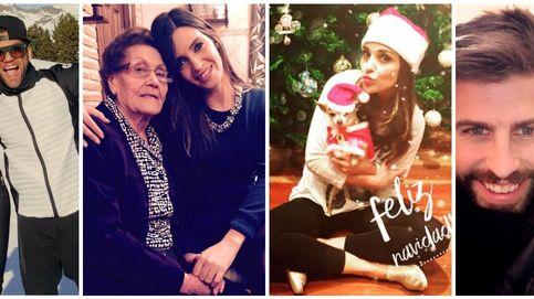 La Nochebuena de los famosos (como Carbonero, Paula Echevarría y Ronaldo)
