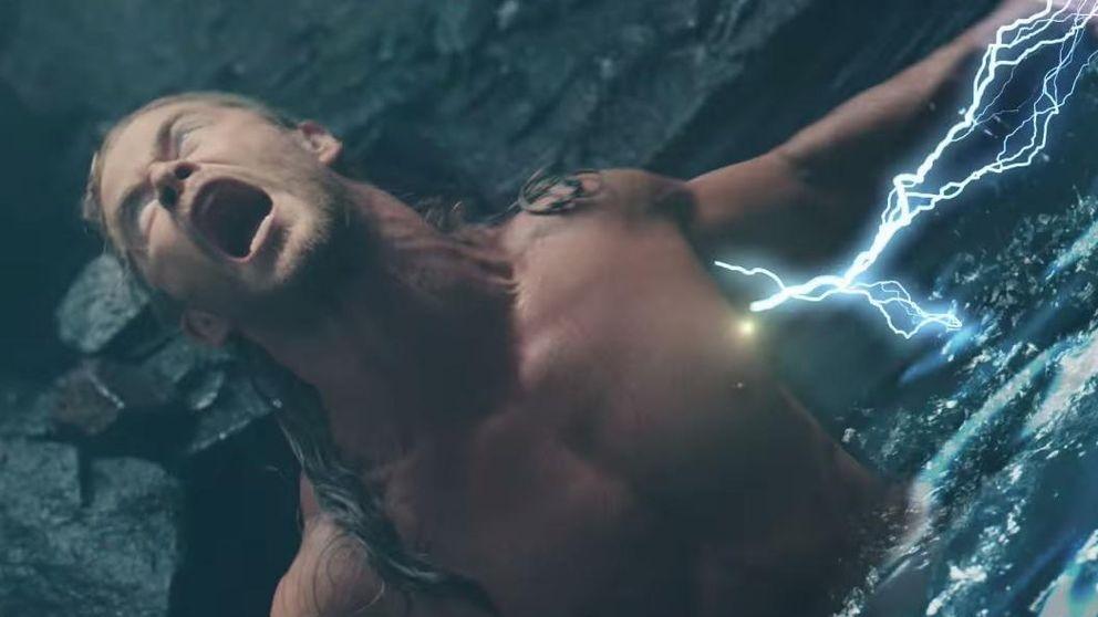 Chris Hemsworth y los músculos que no vimos en 'Vengadores: La era de Ultrón'