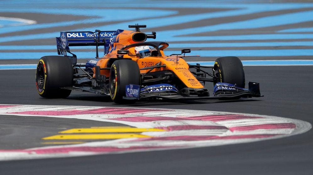 Foto: Carlos Sainz saldrá sexto en el Gran Premio de Francia de F1. (Reuters)