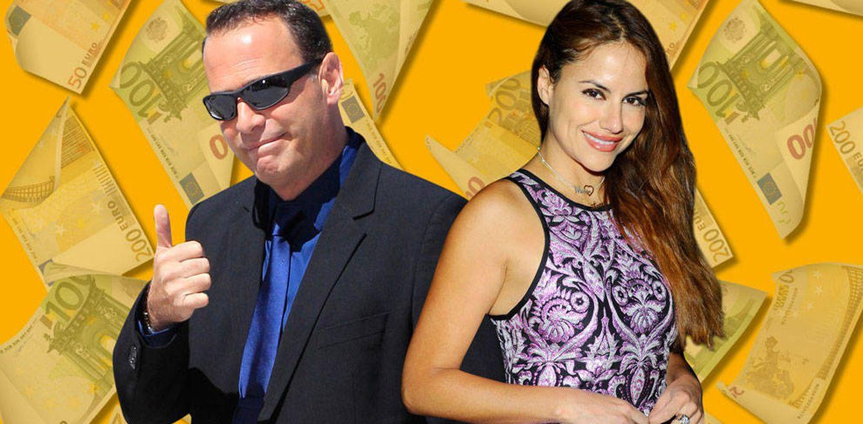 Foto: Carlos Lozano y Mónica Hoyos en un fotomontaje realizado en Vanitatis