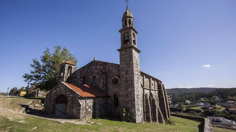 Foto: Iglesia de San Xulián de Moraime. (Xunta de Galicia)