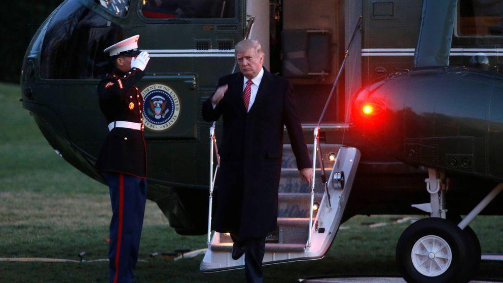 Albornoz, Big Mac y mucha televisión: retrato de Trump en la Casa Blanca
