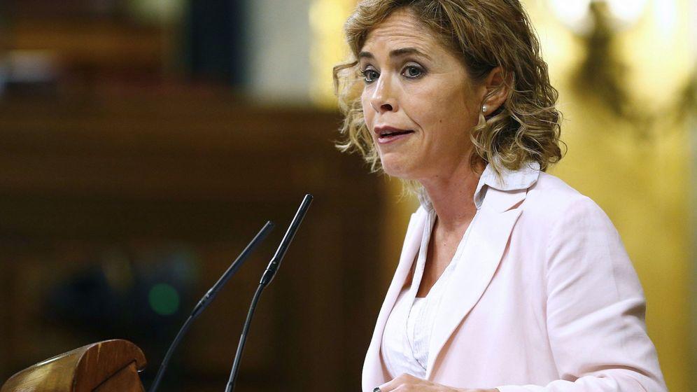 Foto: La diputada de Ciudadanos, Marta Martín Llaguno. (EFE)