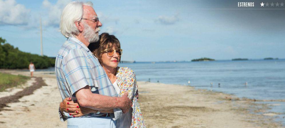 Foto: Donald Sutherland y Helen Mirren, en 'El viaje de sus vidas'. (Karma films)
