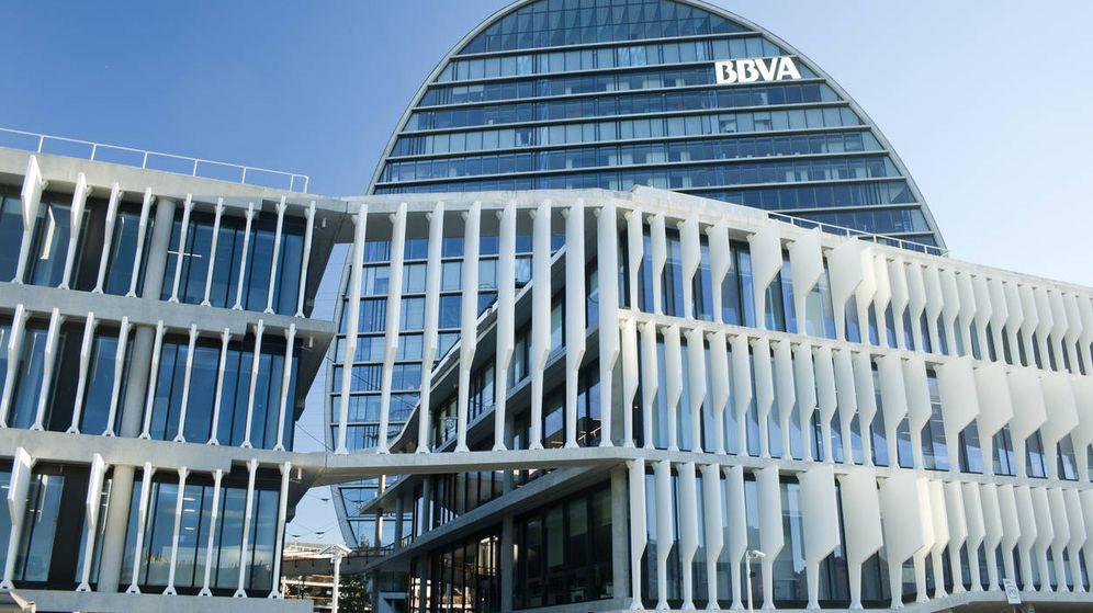 Foto: La sede del banco BBVA. (iStock)