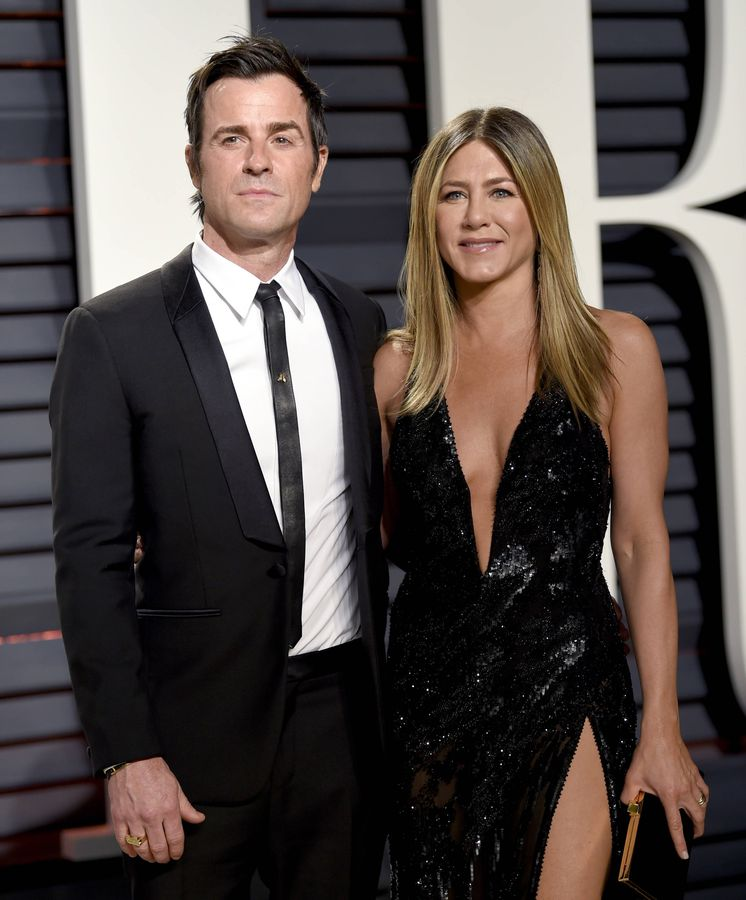 Foto: Jennifer Aniston y Justin Theroux, ¿con la boda empezaron los problemas?