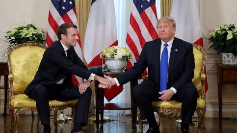 Macron y Trump pactan una tregua sobre la tasa Google y la guerra comercial
