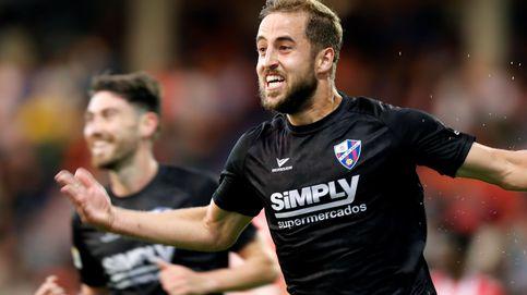 La fiesta del Huesca tras lograr el primer ascenso a Primera División de su historia