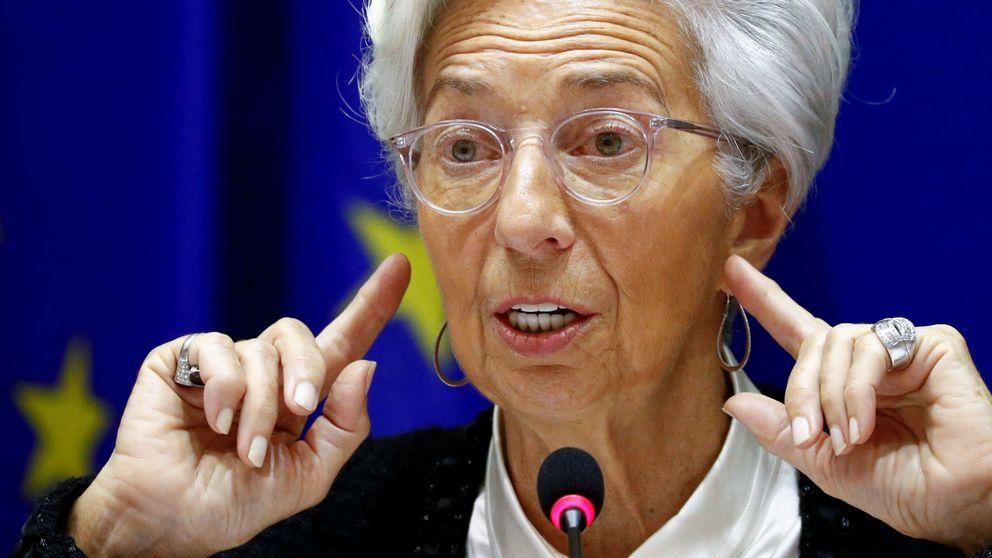 Lagarde (BCE) advierte a los líderes de que el PIB de la eurozona podría caer hasta un 15%